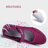 Women Breathable Backless Casual Shoes