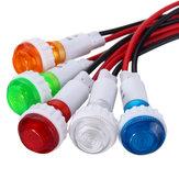 12V 10mm LED Armaturenbrett Armaturenbrett Warnsignal Licht Lampe