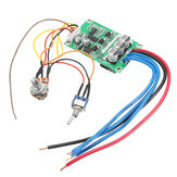 DC 12V-36V 500W High Power borstlös Motor Controller Driver Board monterade ingen Hall