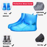 Kadın Kaymaz Su Geçirmez Yeniden Kullanılabilir Outdoor Yüksek Top Ayakkabı Kapakları