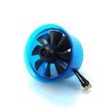 AEORC 70mm Ducted Fan System EDF AF70432B/AF70432B-P2 for Jet Plane with Brushless Motor