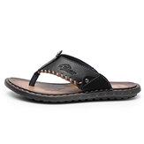 МужскаяСандалииToeShallowЛетняяобувь против скольжения Тапки Comfort На открытом воздухе Сандалии Летняя обувь Пляжный