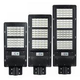 250/450 / 800W Güneş Enerjili LED Soğuk Beyaz Sokak Lambası Su Geçirmez Outdoor Lamba w / Uzakdan Kumanda