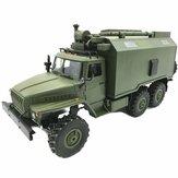 WPL B36 Ural 1/16 2.4G 6WD Rc auto militare camion Rock Crawler Comando di comunicazione veicolo RTR giocattolo