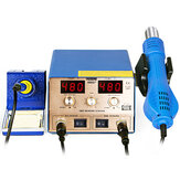 YAOGONG 886D Demolition Chip Repair Cyclone Stand Soldering Station Soldering Electric Iron