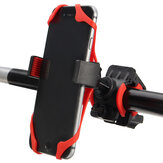 360 Degrees Motorcycle Handlebar Mount Holder Silicone Support For Phone