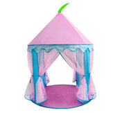 Children Kids Teepee Play Tent Princess Castle Girls Playhouse Indoor