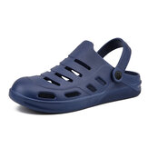 Men Two-ways Beach Shoes Lightweight Non Slip Clog Water Shoes