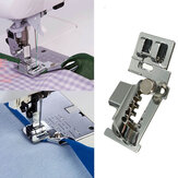 Máquina de costura doméstica Bias Tape Binder Metal Presser Foot Accessories para Brother Singer Janome