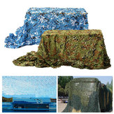7mx2m Camo Camouflage Net For Car Cover Camping Military CS Hunting Shooting Hide