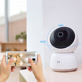 IMILAB A1 3MP 1080 HD 360 Degree Panorama Smart Home IP Camera Shimmer Color Night Vision H.256 Baby Cry Monitor