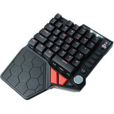 Handjoy K5 Bloodthirsty Keyboard Game Auxiliary Peripherals With Headphone Jack Android IOS Universal