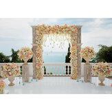 1,2x0,8 m romantikus esküvői fotózás hátteret virágok falibuli fotó háttér ruhával dekorációs kellékek