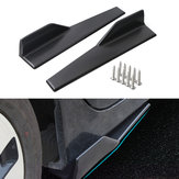 45cm Car Black Side Gonne Rocker Spiltters Winglet Wings Decorazioni per BMW E90 E91 E92 E93 E46 F80 30 F31 F32