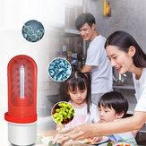 XANES® 360° 5m²  2.5W Powerful Mini UVC Disinfection Germicidal Light USB UV+Ozone Air Clean Kill Mites Ultraviolet Lamp