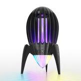BlitzWolf® BW-MLT2 Electronic Mosquito Killer RGB ضوء مدمج مع UV ضوء يمكنه جذب 1200-1600 فولت القوة شبكة بدون تلوث وإشعاع وضوضاء