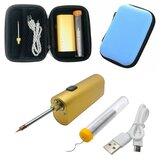 5V 10W Elektrische Soldeerbout Gereedschapssets Lithiumbatterij Draagbare soldeerbout USB Opladen Soldeergereedschap