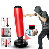 160cm Boxing Punching Bag Inflatable Boxing Column Free-Standing Karate Taekwondo Practicing Bag Fitness Sport for Adult Kids