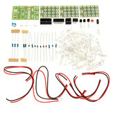CD4017+ne555 Módulo de Estroboscopio Electrónico DIY Kit de Aprendizaje