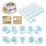 Alphabet Letter Number Fondant Cake Cutter Cookie Mould Sugar Craft Decorations