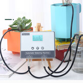WIFI Connection Drip Irrigation System Set Double Pump Automatic Watering Device Timer Kit Mobile APP Intelligent Control