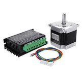 Nema 23 23HS5628 2.8A Two Phase 8mm Shaft Stepper Motor With TB6600 Stepper Motor Driver For CNC Part 3D Printer