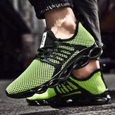 Ji Feng Mesh Casual Sports Shoes Ανδρικά παπούτσια για τρέξιμο Αναπνεύσιμα ελαφριά ανδρικά παπούτσια