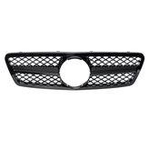 Grille de calandre avant noire brillante Style AMG pour Mercedes Benz classe C W203 S203 C280 C320 C240 C200 2001-2007