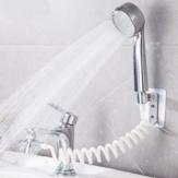 Badezimmer Waschbecken Waschbecken Wasserhahn Externer Duschkopf WC-Haltefilter Flexibler Haarwaschhahn Spüler Verlängerungsset Wasserhahn Zubehör