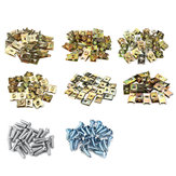 200Pcs Anti-Rust Mixed Fastener Screw Gasket Clip For Car Door/Panel/Fender