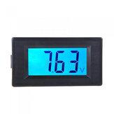 DDH-30L LCD testeur de tension voltmètre à affichage numérique numérique LCD compteur de tension cc cc 7.5-20 V outil de compteur d'instruments à rétroéclairage bleu