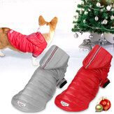 Dog Warm Clothes Winter Vest Waterproof Thick Padded Pet Jacket Hunting Dog Supplies