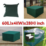 152x104x71cm сад уличная мебель водонепроницаемого дышащего пылезащитный чехол стол приют