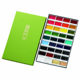 36 Colors Watercolor Paint Set Box Drawing Solid Watercolor Set Pigment Art Stationery Painting Supplies