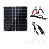 20W 18V Solar Panel with USB Port 5VDC12V for Outdoor working