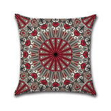 Mandala Middle East Armenia India Oriental Bliss Flower Arabesque Cushion Cover Sofa Pillow Case
