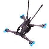 AlfaRC Herbie125 125mm Radstand 3K Kohlefaser 3 Zoll Zahnstocher Freestyle Rahmen Satz für RC Drone FPV Racing