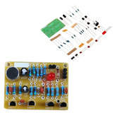 3 stks DIY Elektronische Clapping Voice Control Switch Module Kit Inductie Training DIY Productie Kit