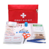 Emergency EHBO-kit 79 stuk Survival Supplies tas voor Car Travel Home Emergency Box