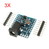 3 szt WeMos® DC Power Shield V1.0.0 dla WeMos D1 Mini
