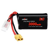 URUAV VTC6 18650 3S 11.1V 3000mAh 15/30C 3S1P LR Li-ion LionPack Battery XT60 Plug for RC Racing Drone