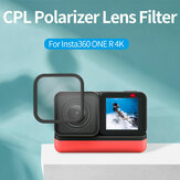 TELESIN Polarizing Filter CPL Lens 2-Sided Anti-Reflective Coating for Insta360 ONE R 4K Action Camera