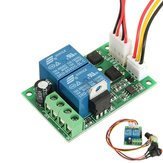 DC 6/9/12/24V 3A PWM Motor Speed Controller Forward Backward Reversible Switch