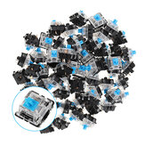 70PCS Pack 3Pin Gateron Clicky Blue Switch Switch Keyboard do mechanicznej klawiatury do gier