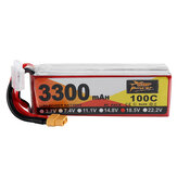 ZOP Power 18.5V 3300mAh 100C 5S Lipo Battery XT60 Plug for RC Racing Drone