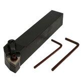 MWLNR2020K08 20 x 125mm Index Suporte de Ferramenta de Torneamento Externo Torno Com 2 pcs chave