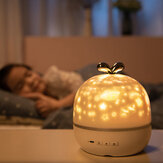 Coversage Rotating Night Light Projector Spin Starry Sky Star Ocean World Children Kids Baby Sleep Romantic Projection