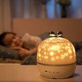 Obejmujący obrotowy projektor światła nocnego Spin Starry Sky Star Ocean World Dzieci Dzieci Dziecko Sen Romantyczna projekcja