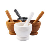 Mortero + Pestle Grinder Pounder Press Mincer Spice & Herb