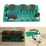 5V-12V AT89C2051 Multifunctionele Zes Digitale LED DIY Elektronische Klokset